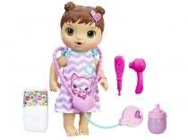 Boneca Baby Alive Morena Cuida de Mim - com Acessórios Hasbro