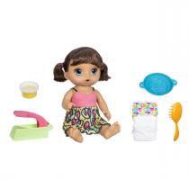 Boneca Baby Alive Morena Espaguete Hasbro - Hasbro