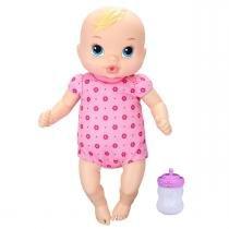 Boneca Baby Alive Recém Nascida com Mamadeira Hasbro - Hasbro
