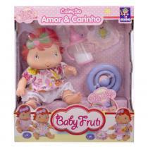Boneca Baby Fruti - Amor e Carinho - Coraçãozinha - Mimo - Mimo