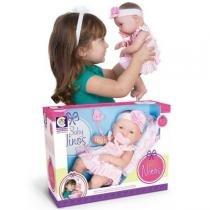 Boneca Baby Ninos - Rosa - Cotiplás - Cotiplás