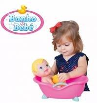 Boneca Banho do Bebê Ref. 2157 Cotiplás -