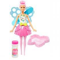 Boneca Barbie Fada Bolhas Mágicas Dreamtopia Mattel - Mattel