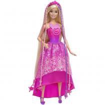 Boneca barbie fantasia penteados magic - dkb62 - mattel -