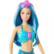 Boneca Barbie Mix  Match Sereia - Mattel CFF28 - Mattel