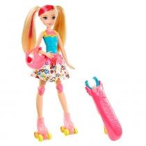 Boneca Barbie - Patinadora de Video Game - Mattel - Mattel