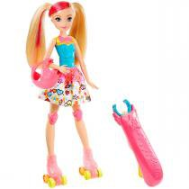 Boneca Barbie Patinadora Filme Video Game Hero Mattel - Mattel