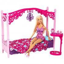 Boneca Barbie Real com Móveis de Quarto - Mattel - Mattel
