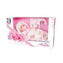Boneca Bebezinho da Mamãe com Matinha e Chupeta Cotiplás - Cotiplás
