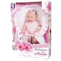 Boneca Bebezinho da Mamãe Pequena com Acessórios - Cotiplás