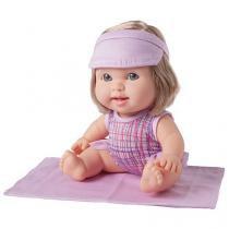 Boneca Betsy Doll Um dia Na Praia - com Acessórios Candide