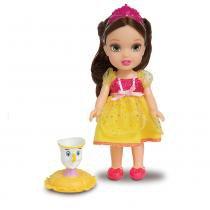 Boneca com Acessórios - Disney Princesas - Princesa Bela e Pet - Mimo - Mimo