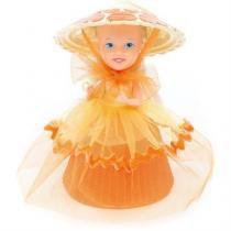 Boneca cupcake do coraçao bolo de laranja estrela 0021 - Estrela