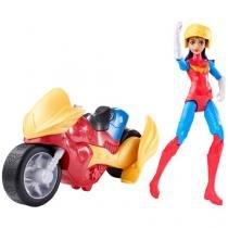 Boneca DC Super Hero Girls Supergirl e Veículo - Mattel