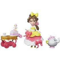 Boneca Disney Princess Little Kingdom - Belles Teacart Treats com Acessórios Hasbro