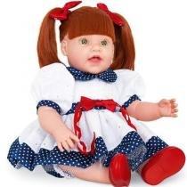 Boneca dolls with love vestido de lese azul cotiplas 2064 - Cotiplas