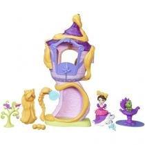 Boneca e Cenário Mini Torre Da Rapunzel - Princesas Disney Little Kingdom Hasbro