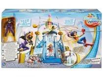 Boneca e Playset Escola de Super Heroínas  DC Super Hero Girls com Acessórios Mattel