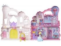 Boneca e Playset Playn Carry Castle  - Princesas Disney Little Kingdo Hasbro