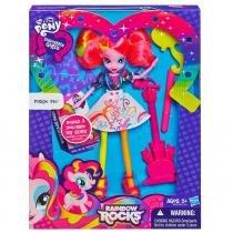 Boneca Equestria Girl com Acessórios Pinkie Pie - Hasbro - My Little Pony
