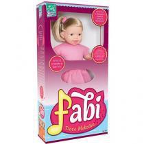 Boneca Fabi Doce Melodia - Super Toys