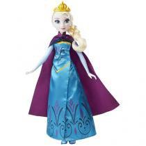 Boneca Frozen Disney Elsa Revelação Real  - com Acessórios Hasbro