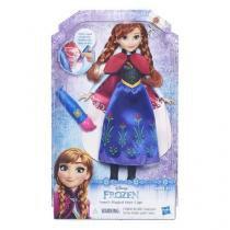 Boneca frozen disney vestido magico anna hasbro b6699 11467 - Hasbro
