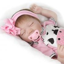 Boneca Laura Baby Dream Kitty - Bebe Reborn - Laura doll