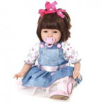 Boneca Laura Baby Eva - Bebe Reborn - Laura doll