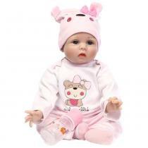Boneca Laura Baby Melinda - Bebe Reborn - Laura doll