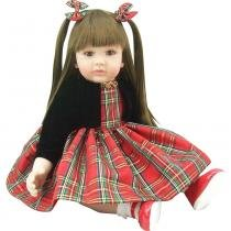 Boneca laura doll red chess - shiny toys - Shiny toys