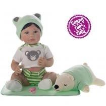 Boneca Laura Newborn Artur - Bebe Reborn - Laura doll