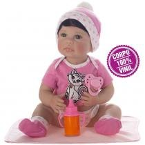 Boneca Laura Newborn Iolanda - Bebe Reborn - Laura doll