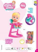 Boneca Little Dolls Cadeirão - Divertoys -