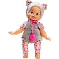 Boneca little mommy fantasias fofinhas gatinha mattel blw15 058652 - Mattel