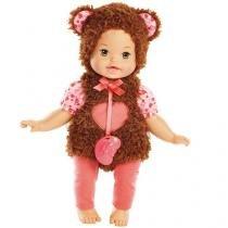 Boneca Little Mommy - Fantasias Fofinhas Ursinho  - Mattel