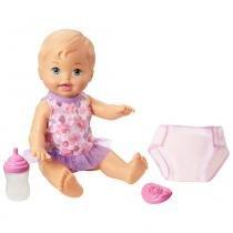 Boneca Little Mommy Faz Xixi - Mattel -