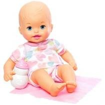 Boneca little mommy recem nascido mattel fjl45/fjl47 - Mattel