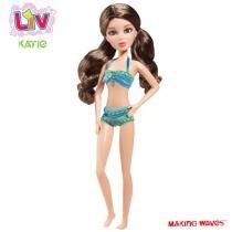 Boneca LIV - Férias Tropicais - Katie - Long Jump -