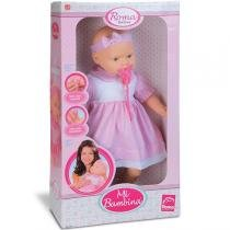 Boneca Mi Bambina - Roma Brinquedos - Roma Jensen