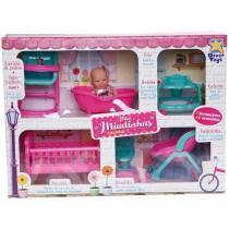 Boneca Mini Miudinhas Casinha Divertoys 675 -