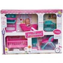 Boneca mini miudinhas casinha divertoys 675 - Divertoys