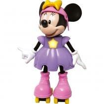 Boneca Minnie Patinadora com Sons - Elka - Disney - Elka
