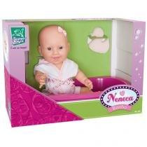 Boneca Neneca Banho com Acessórios - Super Toys
