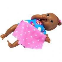 Boneca Neném Nanando com Acessório - Super Toys