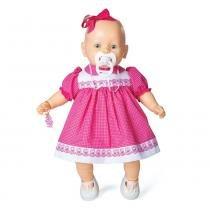 Boneca Nenezinho Vestido Rosa - Estrela -