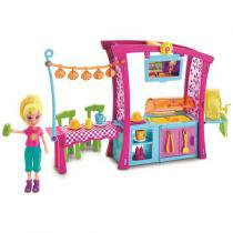 Boneca Polly Pocket Churrasco Divertido - Mattel -
