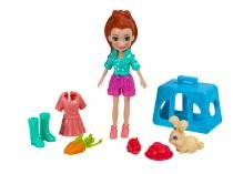 Boneca Polly Pocket com Bichinhos com Acessórios - Mattel