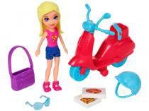 Boneca Polly Pocket Conjunto Scooter - com Acessórios Mattel