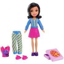 Boneca Polly Pocket Crissy Casa Divertida - Mattel